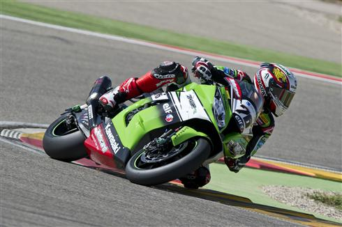 SUPËRBIKE-2014-MORORLAND-ARAGON-Loris-BAZ-Team-KAWASAKI-Photo-Team-KAWASAKI