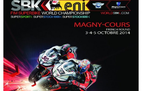 SUPERBIKE 2014 -MAGNY COURS -Affiche
