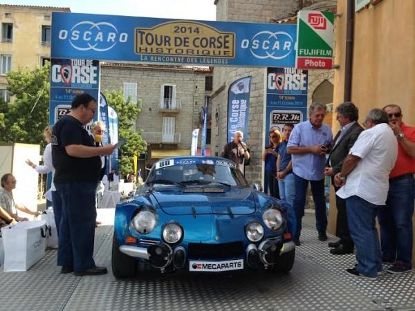 TOUR-DE-CORSE-HISTORIQUE-2014-ALPINE-RENAULT-1800-Groupe-4-de-Philippe-et-Chrystelle-TOLLEMER.