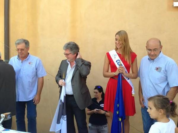 TOUR-DE-CORSE-HISTORIQUE-2014-José-ANDREANI-Georges-MELA-Maire-de-PORTO-VECCHIO-Miss-CORSE-et-Yves-LOUBET.