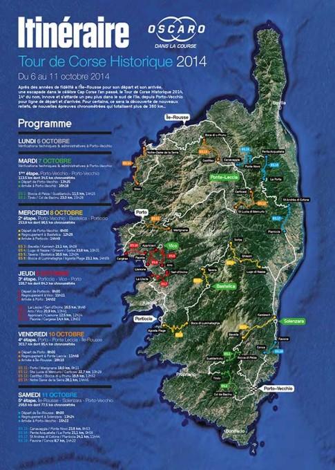 TOUR-DE-CORSE-HISTORIQUE-2014-La-carte-du-parcours
