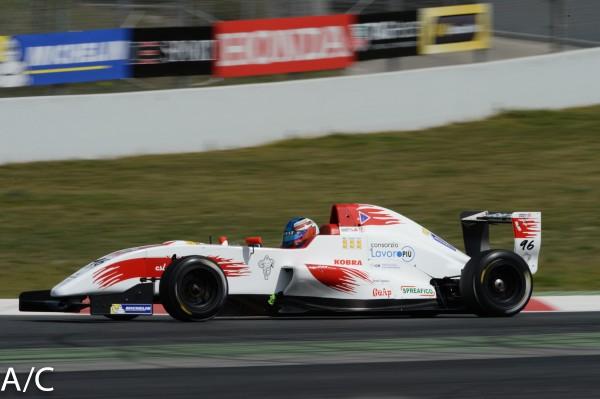 VdeV 2014 BARCELONE Formule RENAULT -Matteo CAIROLI- Photo ANTOINE CAMBLOR