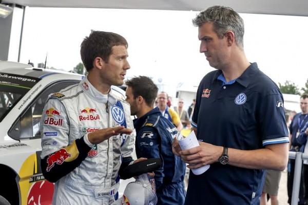 WRC 2014 ALLEMAGNE - Toute la DETRESSE de Sebastien OGIER.