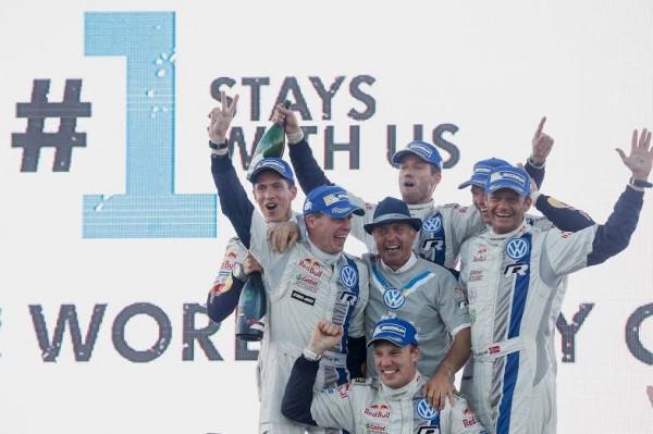 WRC 2014 AUSTRALIE LES HOMMES DE VW DEJA CHAMPIONS DU MONDE