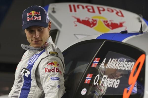 WRC 2014 CATALOGNE- ANDREAS MIKKELSEN3éme du CTeam VW.