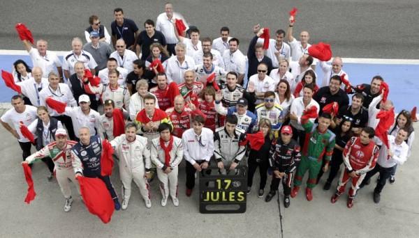 WTCC 2014 SHANGHAI  -TOUS avec JULES BIANCHI