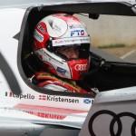 24 HEURES DU MANS 2012 TOM KRISTENSEN cockpit