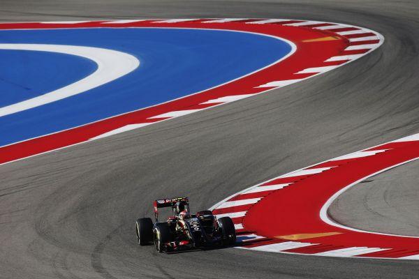 F1 2014 AUSTIN LOTUS RENAULT de Romain GROSJEAN