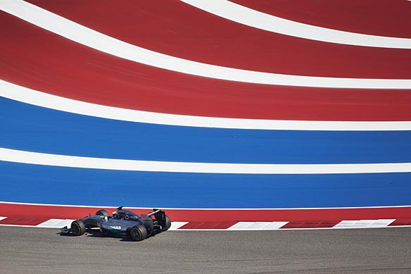 F1 2014 AUSTIN MERCEDES de Lewis HAMILTON
