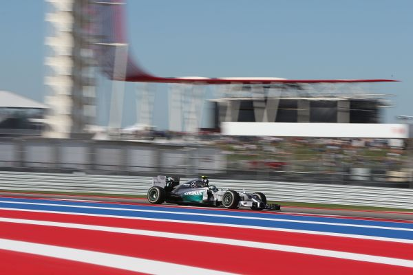 F1 2014 AUSTIN - MERCEDES de Nico ROSBERG.