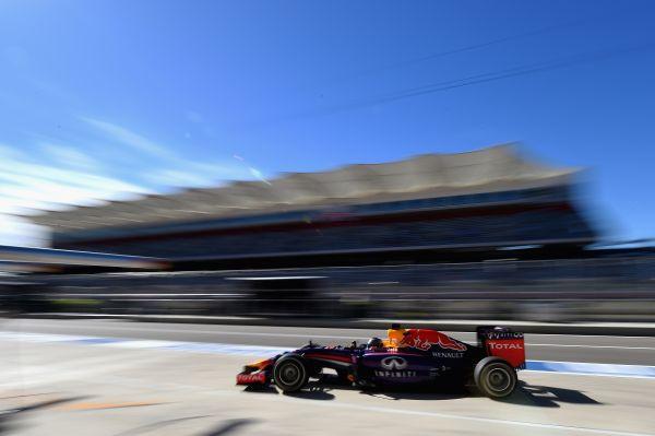 F1 2014 AUSTIN -RED BULL RENAULT de Seb VETTE