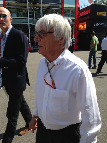 F1 2014 Bernie ECCLESTONE portrait Photo autonewsinfo.