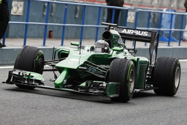 F1 2014 JEREZ CATERHAM RENAULT KAMUI KOBAYASHI Photo MAX MALKA