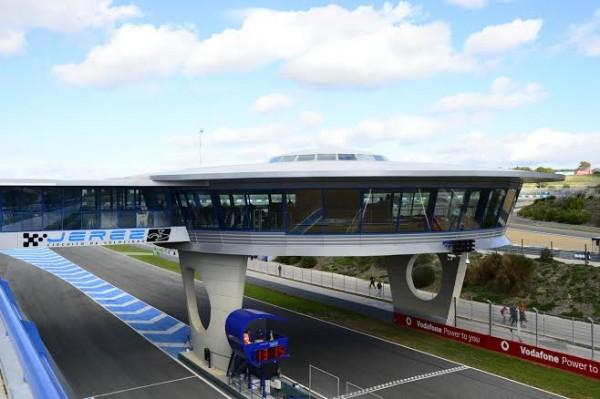 F1-2014- JEREZ- Les-stands- Séance essais inter - saison 28-Janvier-Photo-Max-MALKA.