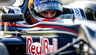 F1 2014 MAX VERSTAPPEN dans le basuet de la TOR