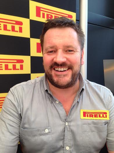 F1 2014 - Paul HEMBERY patron de PIRELLI Motorsport