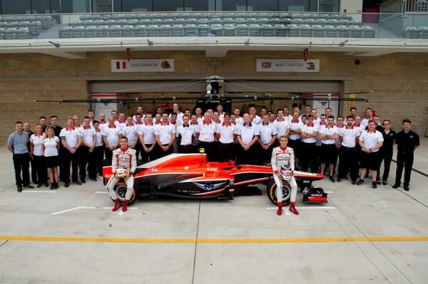 F1 EQUIPE MARUSSIA 2013
