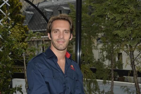 F1 - Jean Eric VERGNE le 23 avril à PARIS - photo Max MALKA