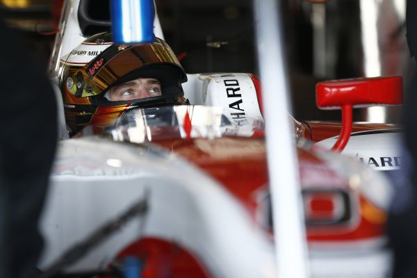 GP2 2014 - ABOU DHABI test 27 novembre- Stoffel VANDOORNE ART GP.