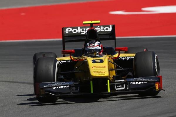 GP2-2014- Stéphane RICHELMI-Team-DAMS.
