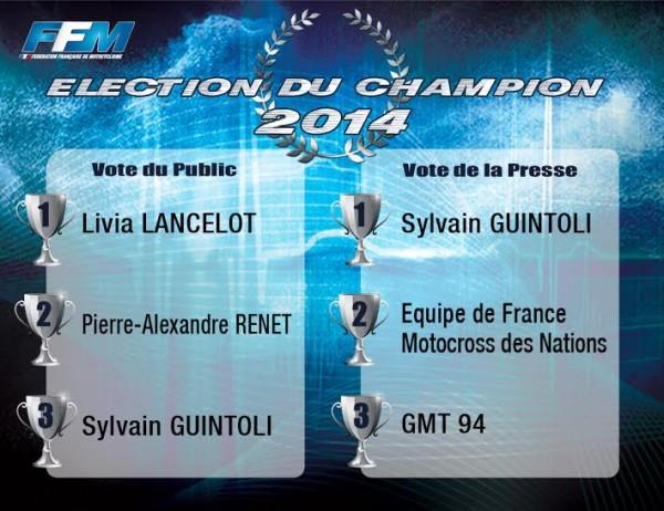 MOTO 2014 - SYLVAIN GUINTOLI -CHAMPION MOTO FRANCAIS