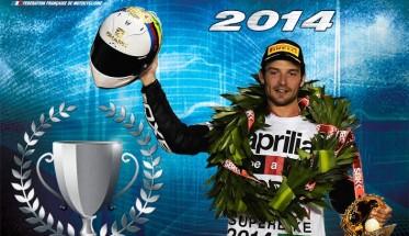 MOTO 2014 - SYLVAIN GUINTOLI LE CHAMPION MOTO FRANCAIS