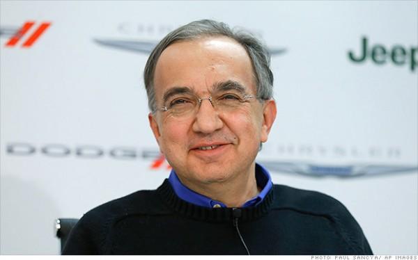 SERGIO MARCHIONNE PDG Groupe FIAT.j