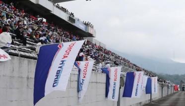 WEC 2014  FUJI - TOYOTA  A NATURELLEMENT ses fans a domicile