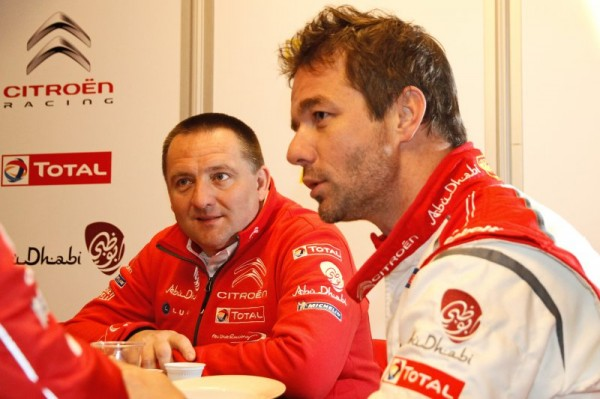 LOEB et Yves MATTON de CITROEN.J
