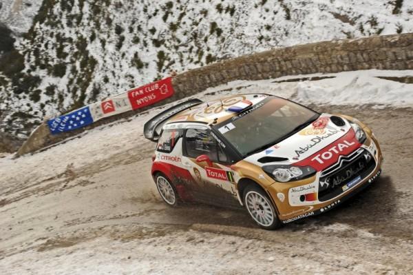 WRC 2013 MONTE CARLO LOEB ELENA AVEC LA DS3 CITROEN.J