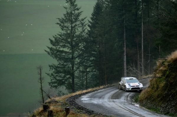 WRC 2014 GB- La Polo VW de  JARI MATTI LATVALA