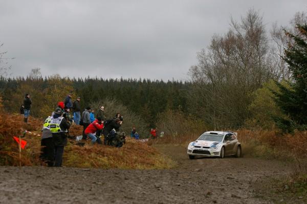 WRC 2014 GB- VW Polo d'Andreas MIKKELSEN