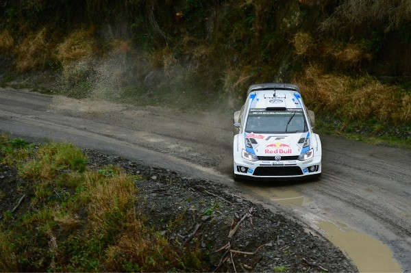 WRC 2014 GB- La POLO VW d'OGIER INGRASSIA.
