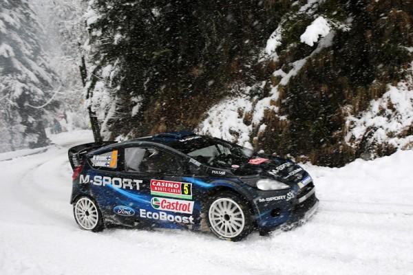 WRC-2014-MONTE-CARLO-FORD-FIESTA-de-MIKKO-HIRVONEN-dans-le-TURINI-SAMEDI-18-Janvier.