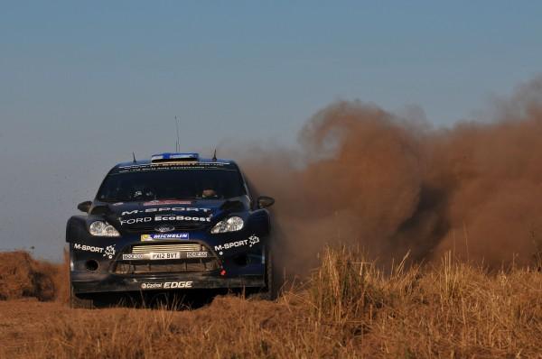WRC 2014 SARDAIGNE - La FORD FIESTA de Mikko HIRVONEN.j