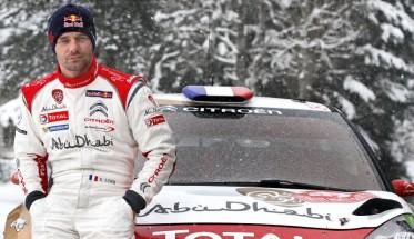 WRC MONTE CARLO LOEB AVEC LA DS3 CITROEN.