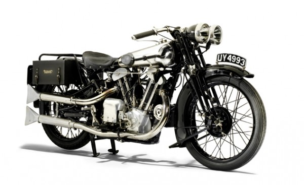 Brough Superior SS100 Grand Alpine Sport de 1929