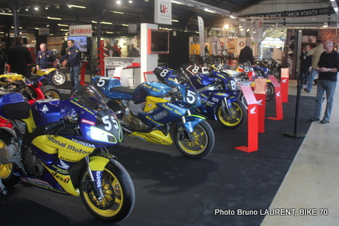 SALON MOTO LEGENDE 2014  - Le superbe stand NATIONAL MOTOS