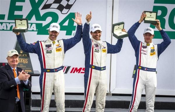 24-HEURES-DE-DAYTONA-2014-le-trio-victorieux-Joao-Barbosa-Christian-Fittipaldi-et-Sebastien-Bourdais