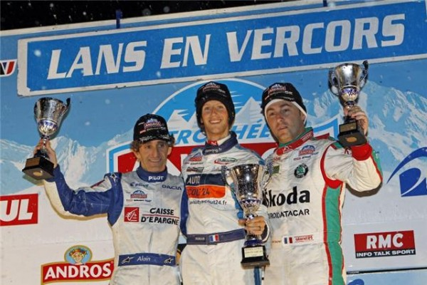ANDROS Villars Podium Prost Grosjean Dayraut photo Bernard BAKALIAN autonewsinfo.