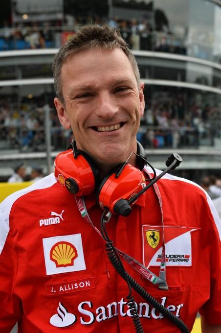 F1 2014 - JAMES ALLISON.