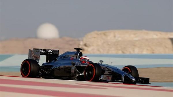 F1 2014 Test BAHREIN La MCLAREN de Kevin MAGNUSSEN
