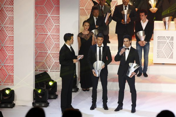 FFSA-2014-Remise-des-Prix-FOLIES-BERGERE-Les-CHAMPIONS-D-EUROPE-ELMS-Nelson-PANCIATICI-et-Paul Loup CHATIN