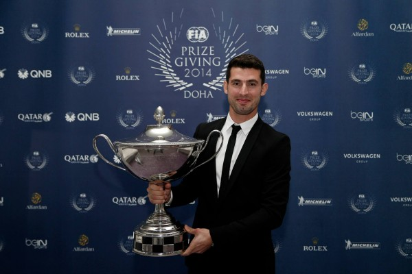 FIA-2014-Remise-des-Prix-a-DOHA-au-QATAR-Jose-Maria-LOPEZ-CHAMPION-du-monde-des-voitures-de-touriseme-WTCC