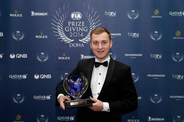 FIA 2014 Remise des Prix a DOHA au QATAR Nitis REYNISS POUR LE TITRE TEAM en RALLYCROSS.j