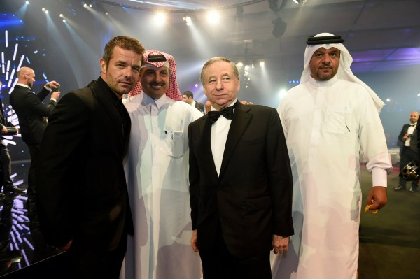 FIA-2014-Remise-des-Prix-a-DOHA-au-QATAR-LOEB-Sebastien-Nasser-AL-ATTIYAH-Nasser-le-President-of-the-Qatar-Motor-Motorcycle-Federation-et-Jean-TODT-Jean-le-President-de-la-FIA.j