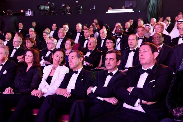 FIA 2014 Remise des Prix a DOHA au QATAR - Pierre FILLON et Gerard NEVEU les organisateurs du Championnat du monde endurance WEC.