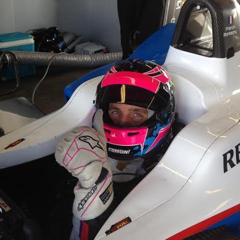 FORMULE-E-2014-Franck-MONTAGNY-dans-le-cockpit-de-sa-monoplace-du-Team-ANDRETTI-Autosport-Photo-autonewsinfo.