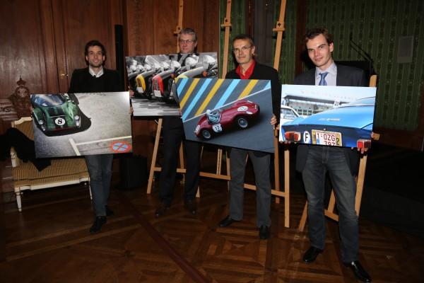 GLASURIT Le calendrier 2015 -Les trois laureats et le prix special du Jury