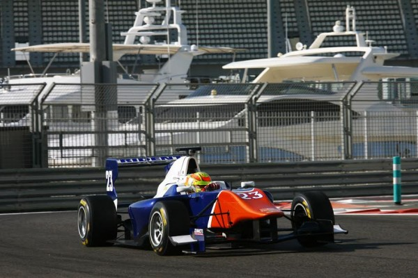 GP3 2014 YAS MARINA Test Team TRIDENT - Amaury BONDUEL - Photo Jean CEVAER